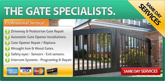Gate repair Reading PA
